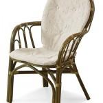 Two piece chair cushion