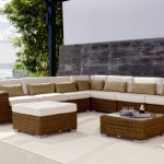 Deep seating cushions set