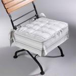 One piece chair cushion