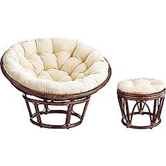Papasan chair pad
