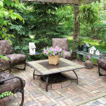 Garden-house seat cushions