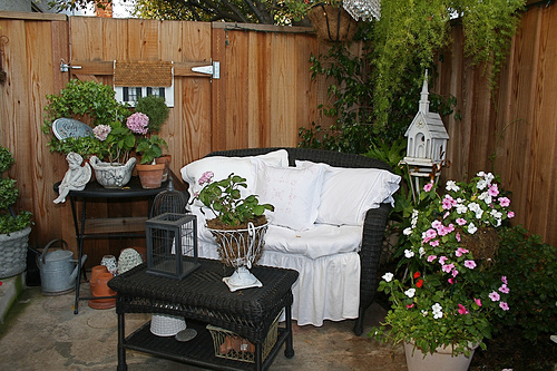 Outdoor cushions set